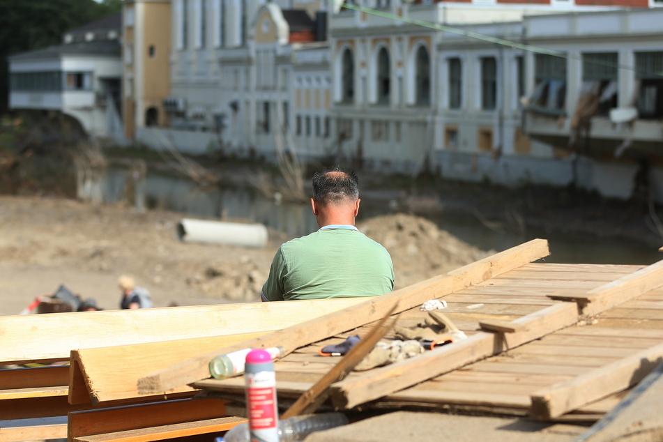 Die Hochwasserkatastrophe hatte in NRW ganze Ortschaften zerstört.