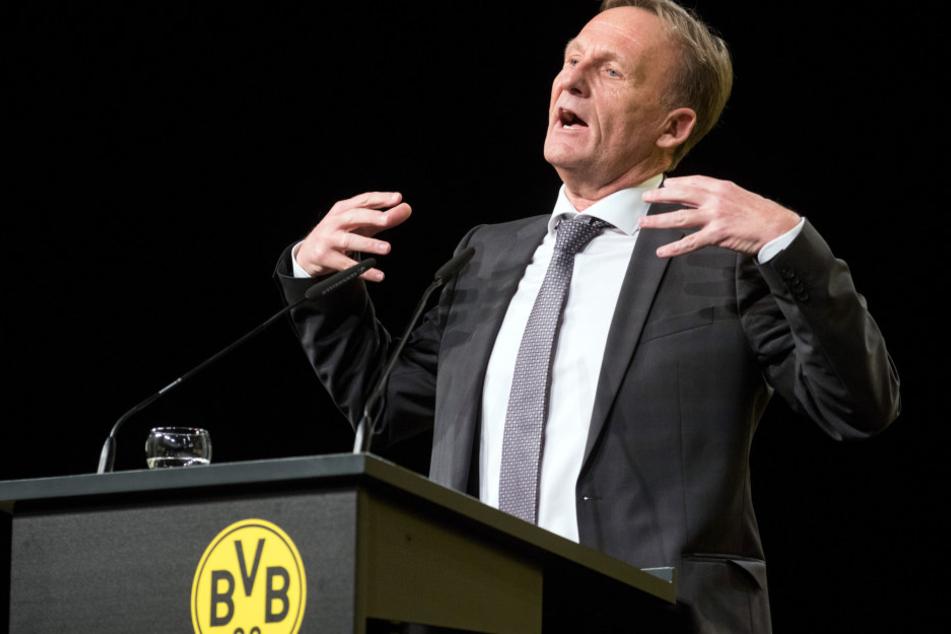 """Watzke meint: """"Wir brauchen diesen Tabellenführer nicht."""""""