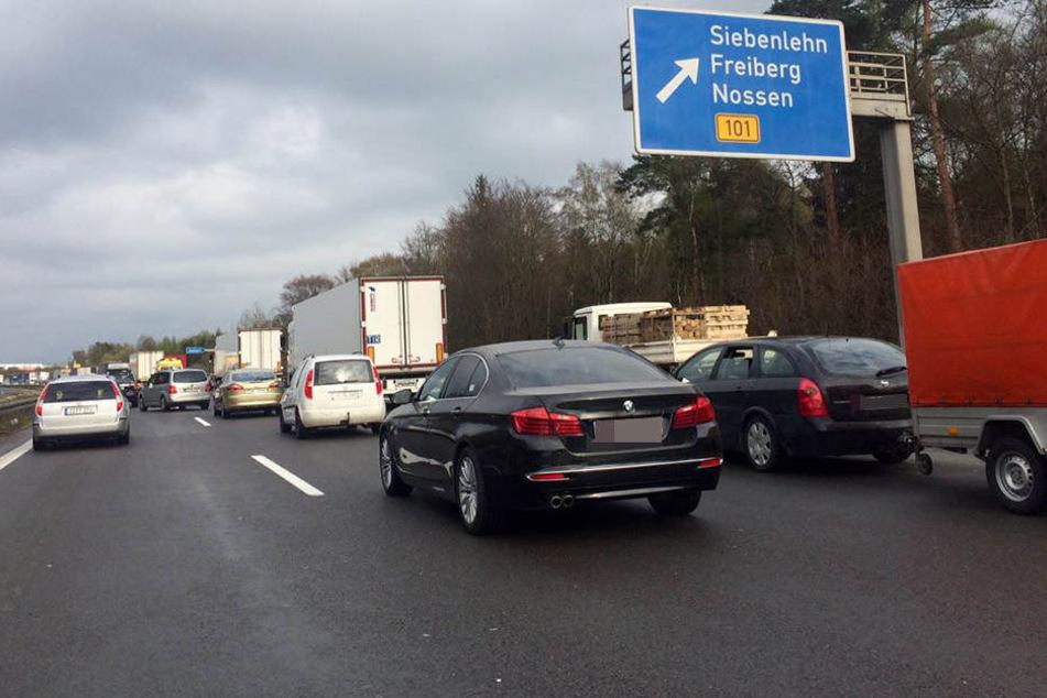 Bis zu 40 Kilometer Stau! A4 in Richtung Dresden dicht