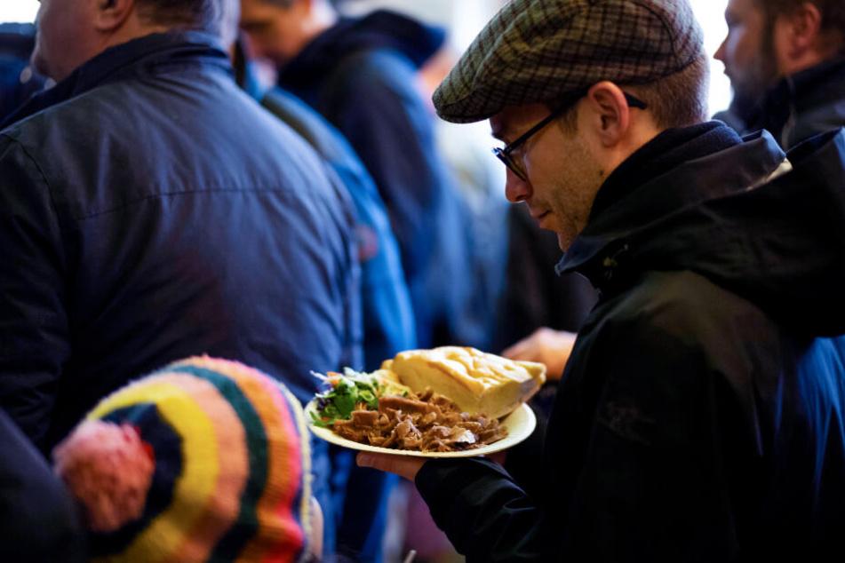 Etwa 1700 bis 2000 Menschen waren am Wochenende zu Gast im Kiez-Döner.