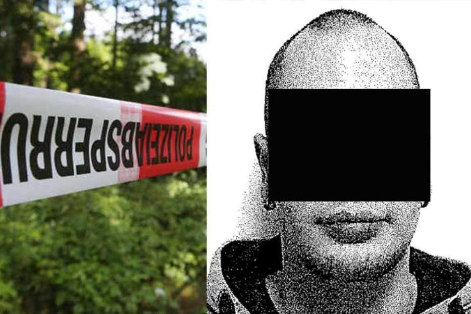 Der 26-jährige floh in den Gördenwald, wo ihn die Polizei bereits suchte.