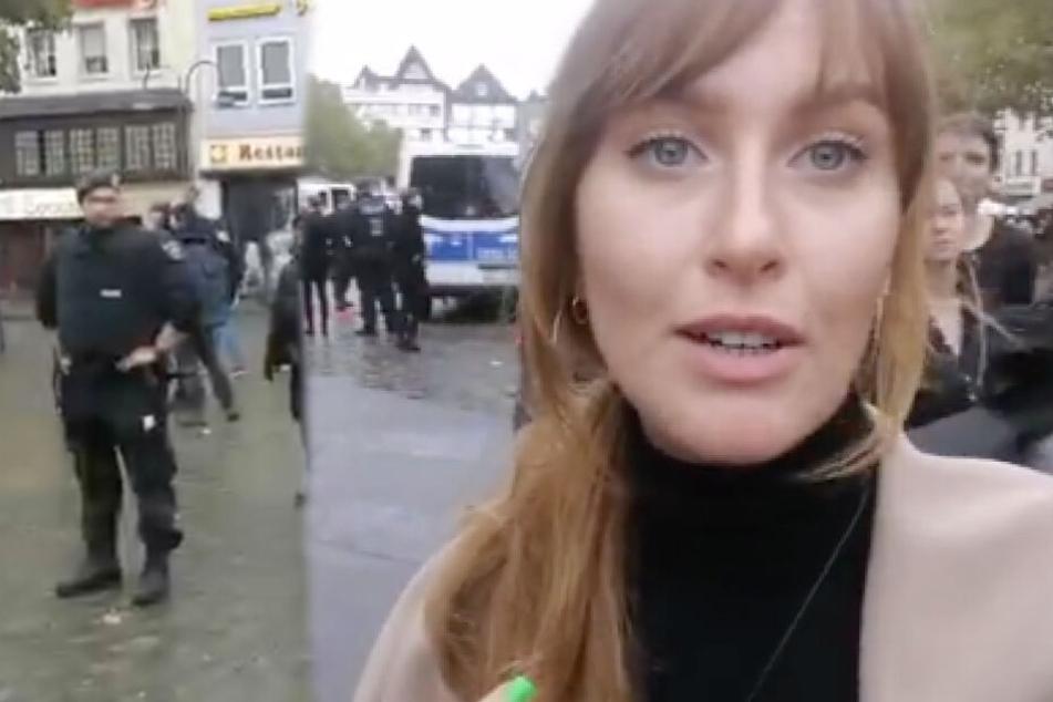 KVB-Gleise am Kölner Heumarkt blockiert: Demonstranten fordern etwas völlig anderes