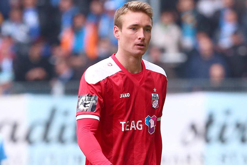Christoph Menz wechselt zu Fortuna Köln. Die Ablösesumme ist geheim.