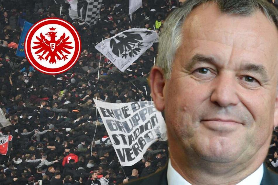 Polizeipräsident verteidigt Einsatz vor Eintracht-Spiel gegen Donezk