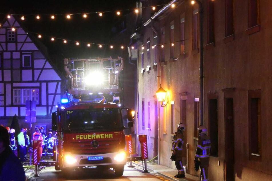 Einsatzkräfte der Feuerwehr konnten die Flammen löschen.