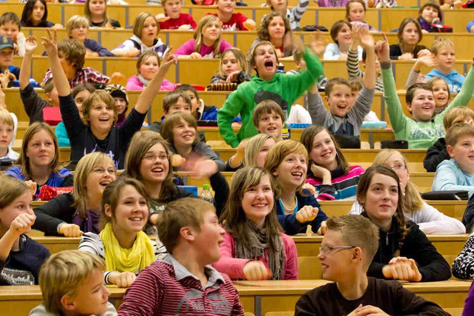 Die Kinderuni in Ilmenau zieht die meisten kleinen Universitätsbesucher an.