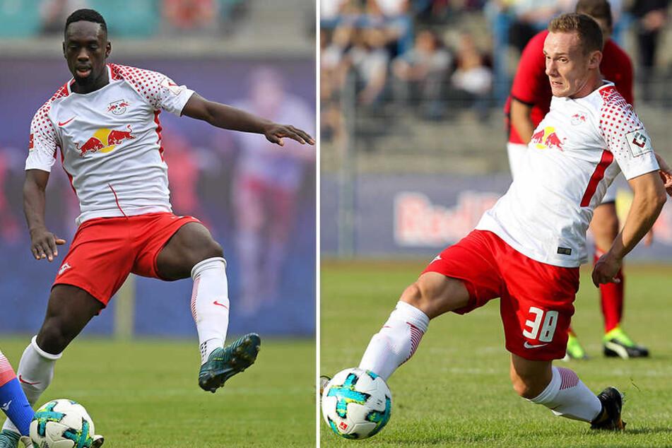 Auch Neuzugang Jean-Kevin Augustin (l.) oder Federico Palacios Martinez (r.) könnten Poulsen ersetzen.