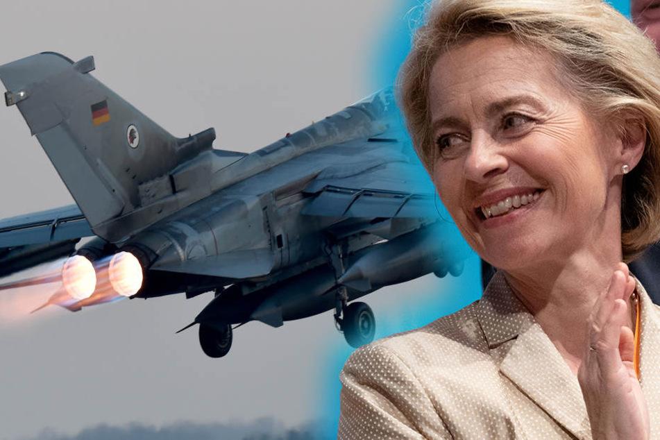 Bundesverteidigungsministerin Ursula von der Leyen (59).