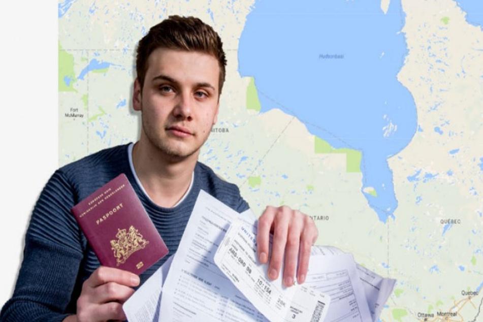 Statt nach Australien reiste der 18-Jährige nach Kanada.