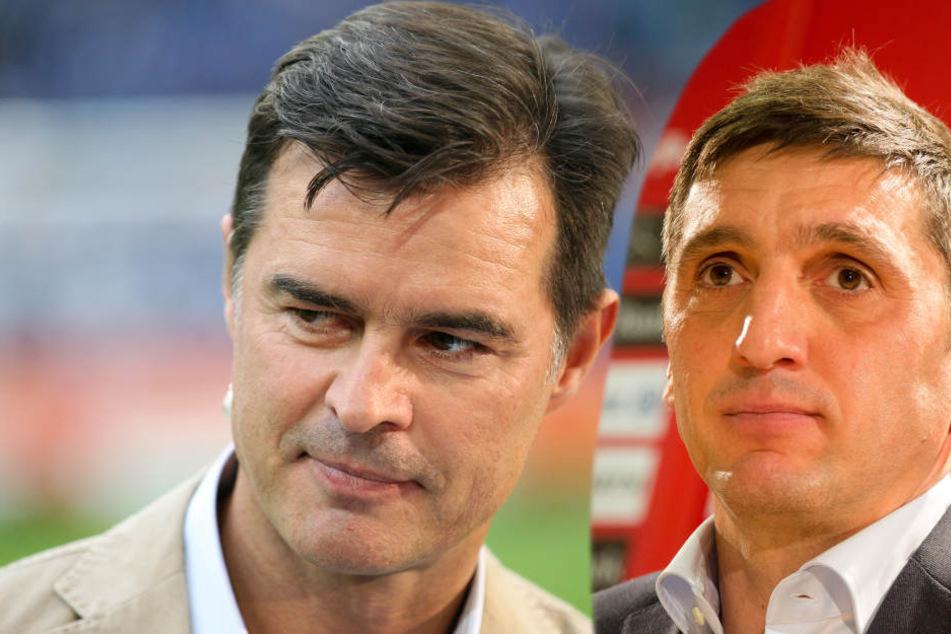"""""""Ich hätte Wolf noch eine, zwei Spiele mehr Zeit gegeben"""", Thomas Berthold scheint nicht begeistert über den neuen Trainer zu sein."""