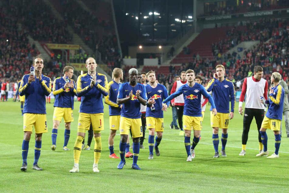 Am Freitagabend endete die Partie des RB gegen den FSV Mainz 05 unentschieden.