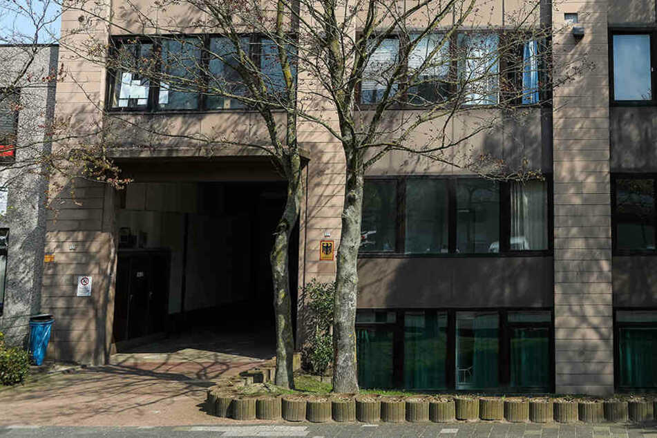 iDie Außenstelle des Bundesamtes für Migration und Flüchtlinge (Bamf) in Bremen.