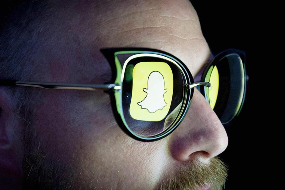 """Die Fotoplattform """"Snapchat"""" hat eine Sonnenbrille mit Kamera entwickelt."""
