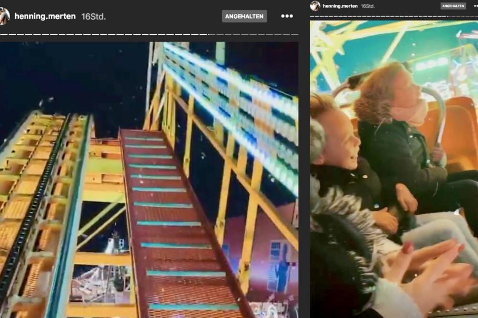 Der 30-Jährige war wenige Stunden vor dem Vorfall selbst auf dem Weihnachtsmarkt, wie ein Blick in seine Instagram-Story beweist.