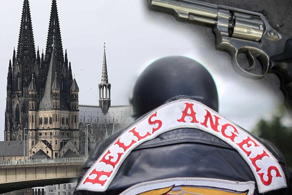 Köln: Hells Angels gründen neues Charter in Köln, Polizei findet scharfen Revolver