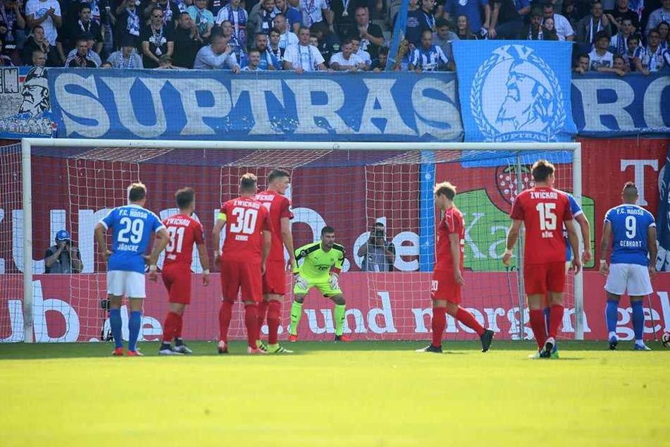 An der Ostsee kassierte der FSV bei Hansa eine bittere 0:5-Derbypleite.