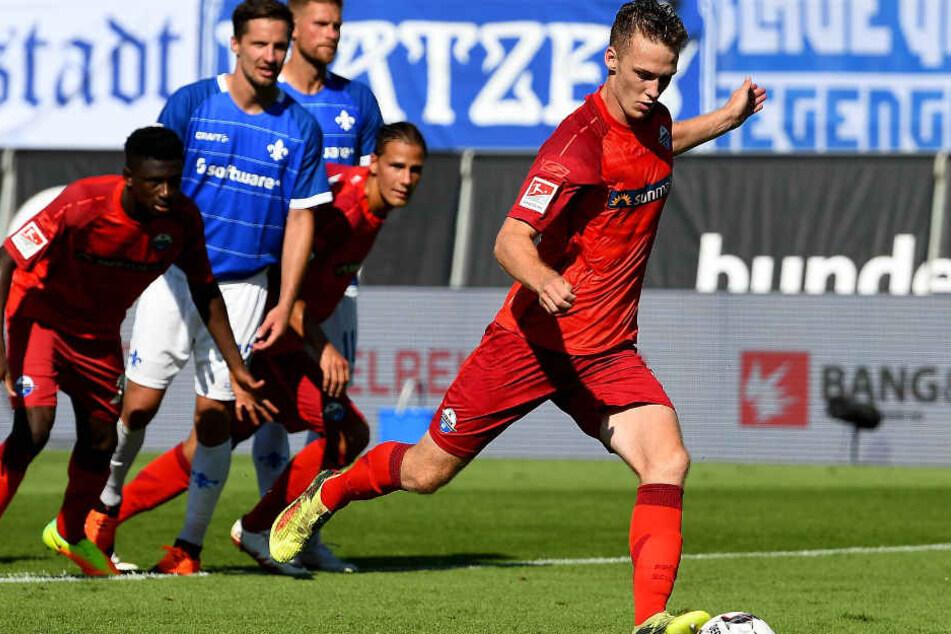 Sebastian Schonlau verschoss den Elfmeter in der 71. Minute.