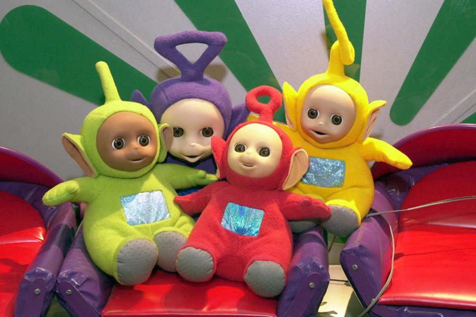 Die Teletubbies waren bei Babys (oder ihren Eltern?!) schwer angesagt.