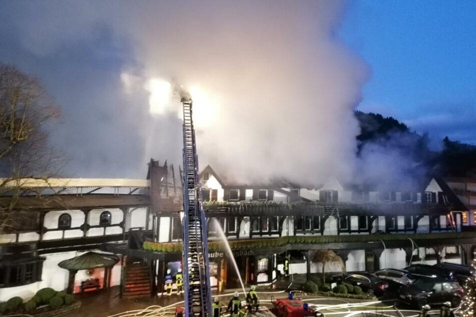 Millionenschaden bei Feuer im Drei-Sterne-Restaurant