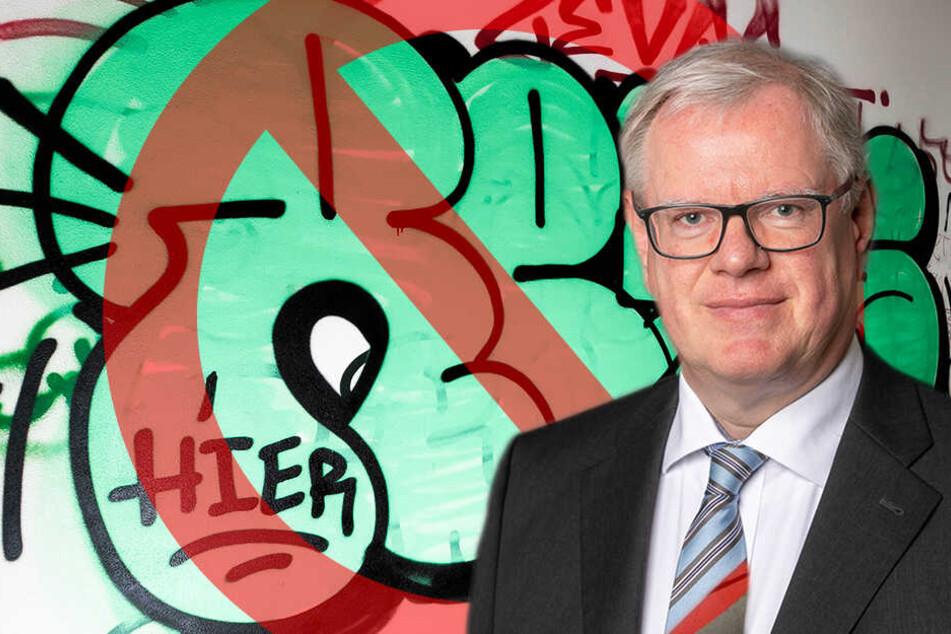 Dresden: Politiker sagt Schmierfinken den Kampf an! Kommen Graffiti bald innerhalb von 24 Stunden weg?