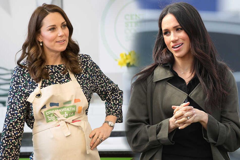Zickenkrieg, weil Kate eifersüchtig auf Meghan ist?