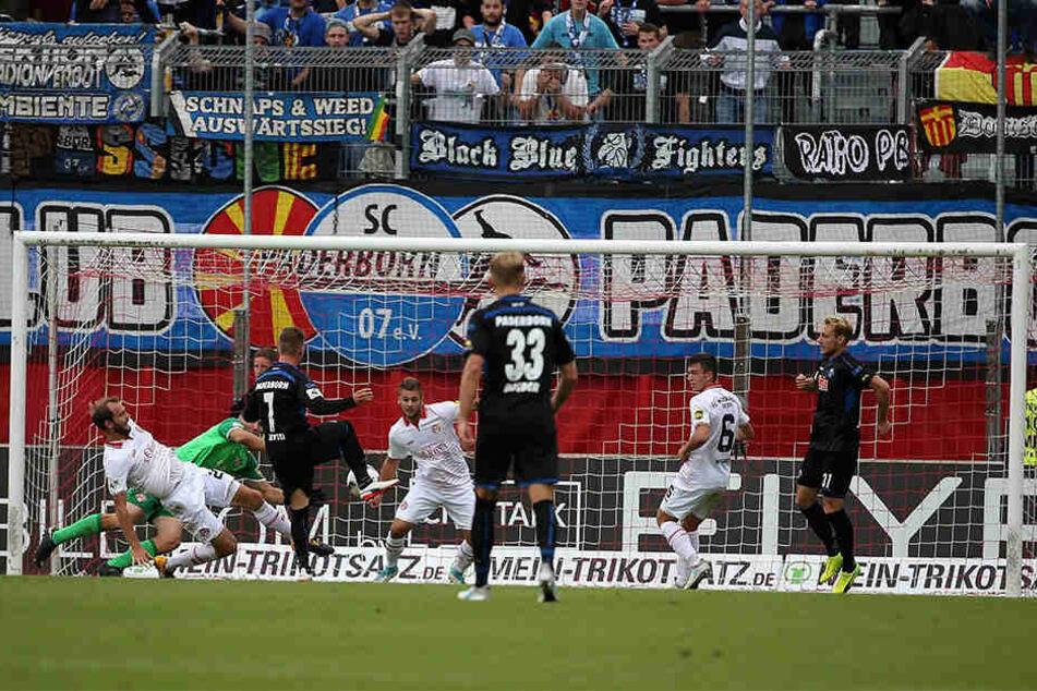 Gegen die Würzburger Kickers schoss Marlon Ritter das entscheidende Tor.