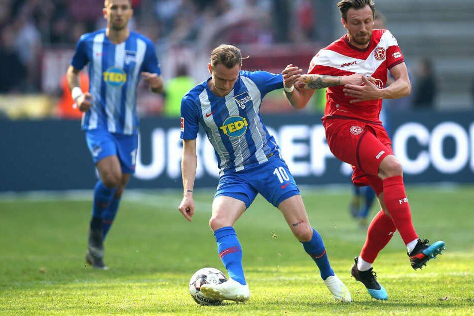 Hertha BSC verlor gegen Fortuna Düsseldorf mit 1:2.