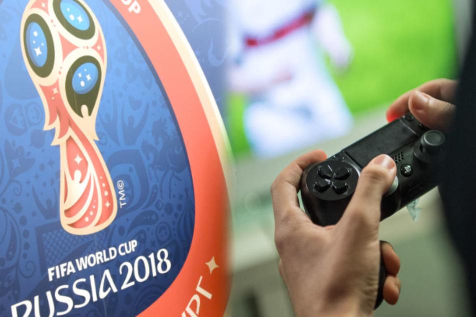 Für FIFA 18 gibt es ein kostenloses Update zur Fußball-WM 2018. (Symbolbild)