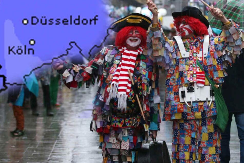 Regen und Glatteis: So eklig wird das Karnevalswetter am Wochenende