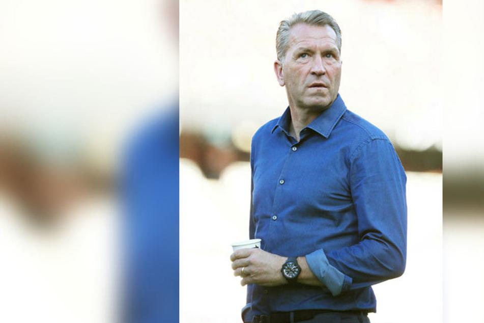 Auch Pascal Köpkes Vater Andreas wird am Freitag im Stadion sein.