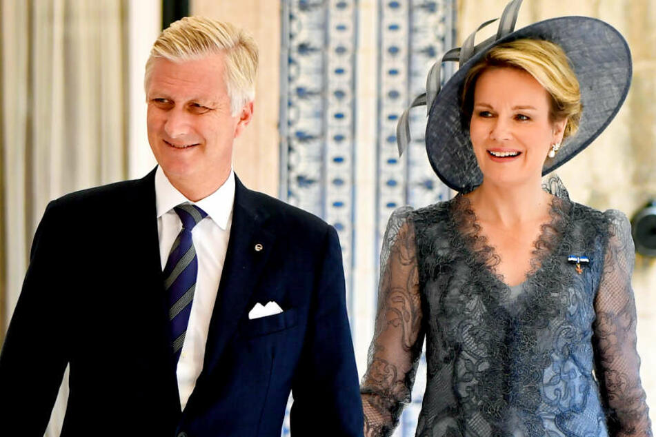 Das belgische Königspaar Philippe und Mathilde ist am Freitag zu Besuch in Deutschland.
