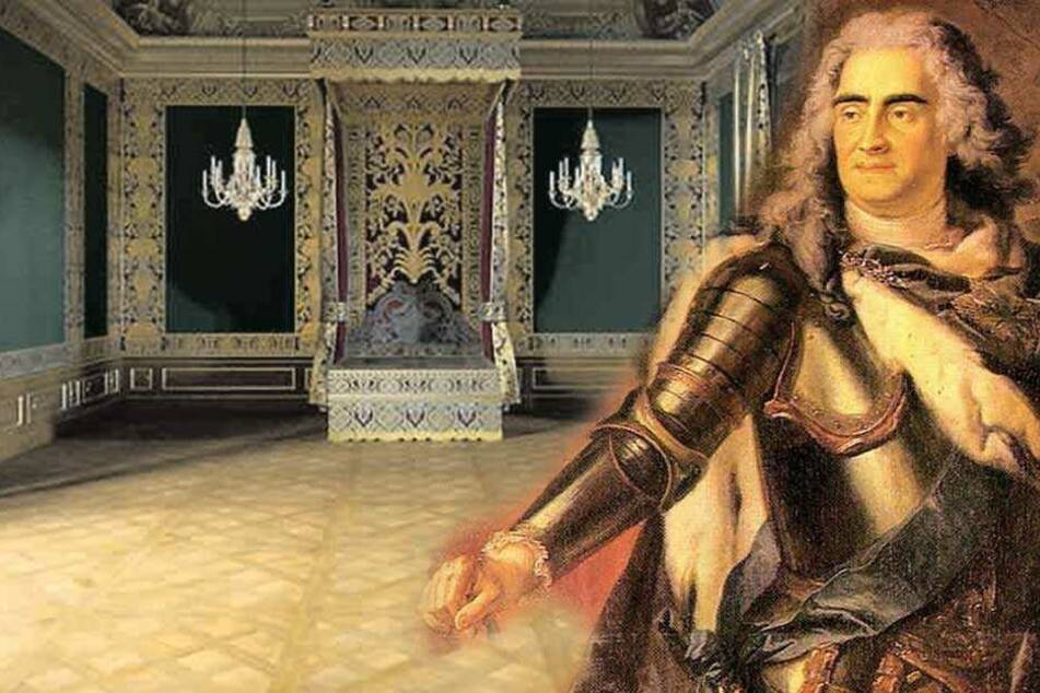 Neuer Raum im Schloss: Was trieb August der Starke in diesem Bett?