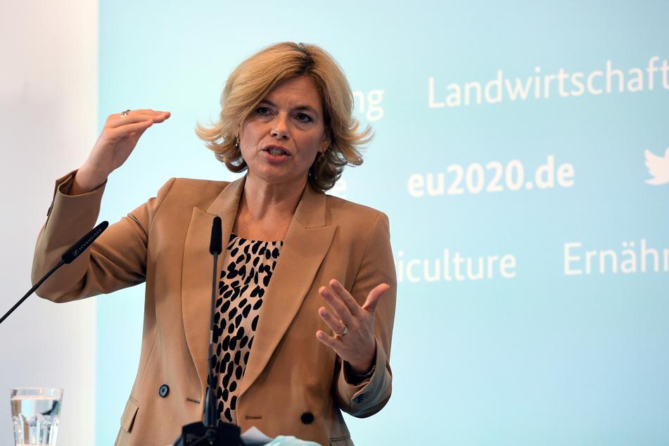 Julia Klöckner (CDU) ist die Bundesministerin für Ernährung und Landwirtschaft.