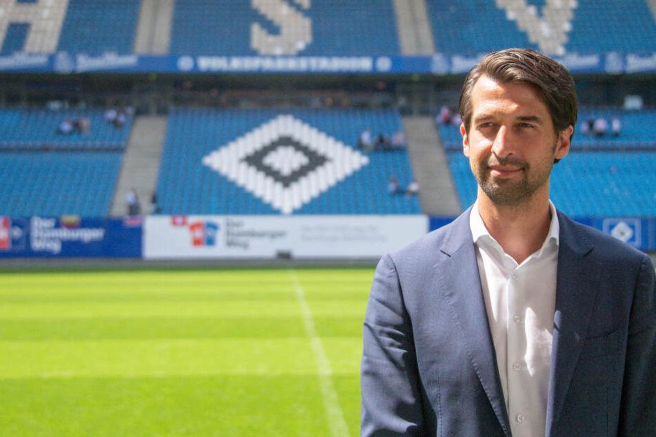 Jonas Boldt ist erst seit Mai 2019 HSV-Sportvorstand. (Archivbild)