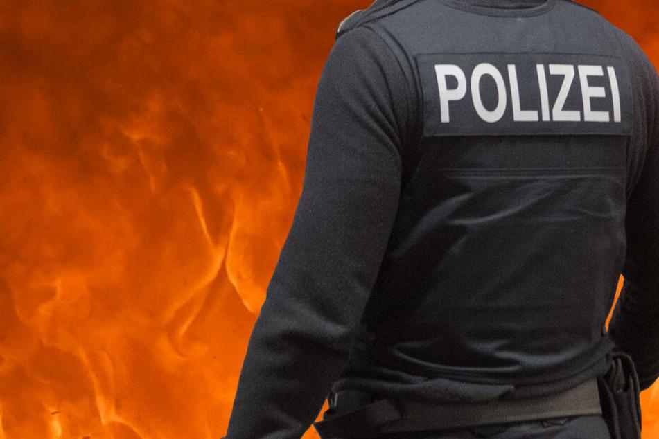 Mann (35) verbrennt bei lebendigem Leib: Polizei steht vor großem Rätsel