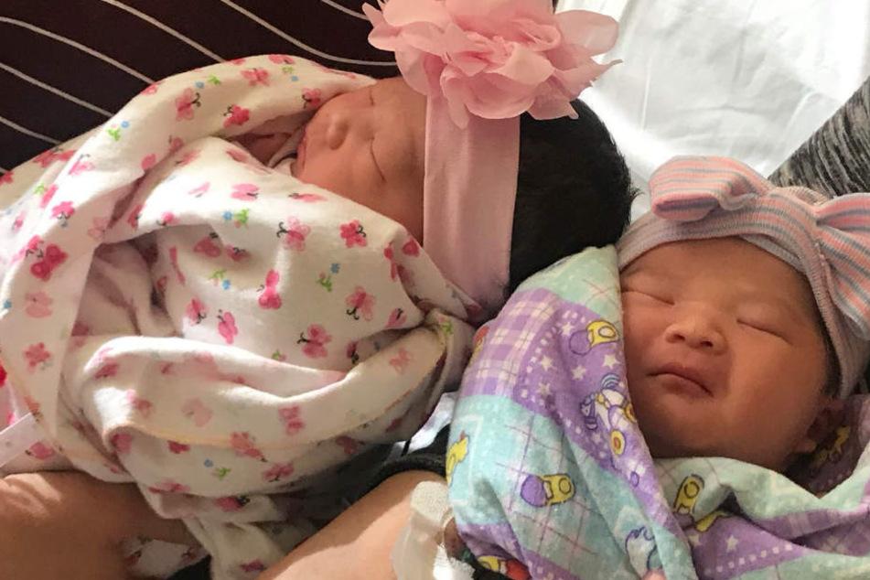 Kuriose Doppelgeburt: Eineiige Zwillinge werden fast zeitgleich Mutter