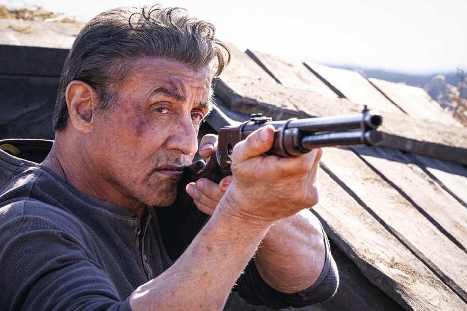 Sinnt auf Rache: John Rambo (Sylvester Stallone) rüstet sich für seinen nächsten Krieg.