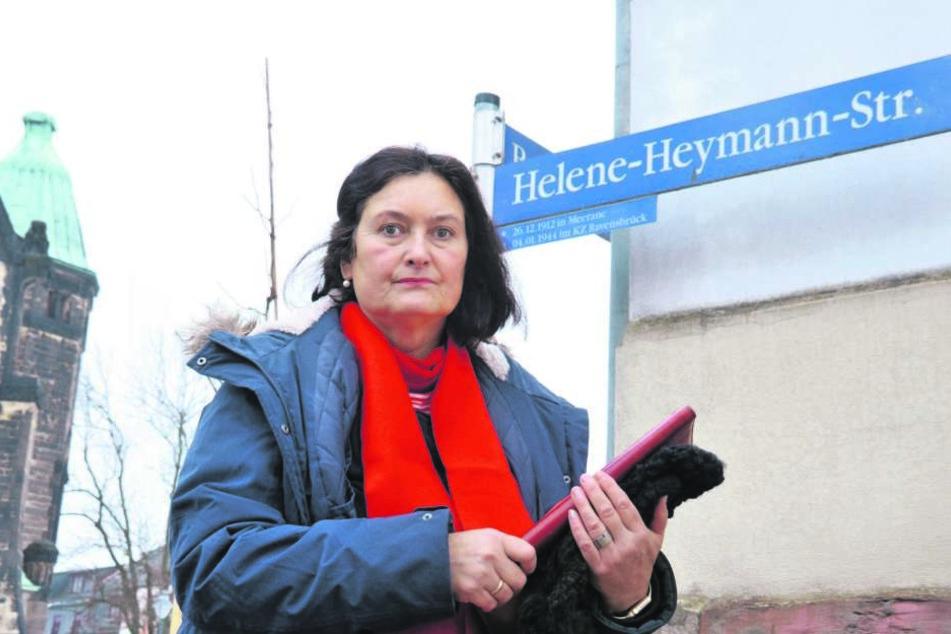 CDU-Stadträtin Christiane Drechsel (55) kämpft für eine Babyklappe in Zwickau.
