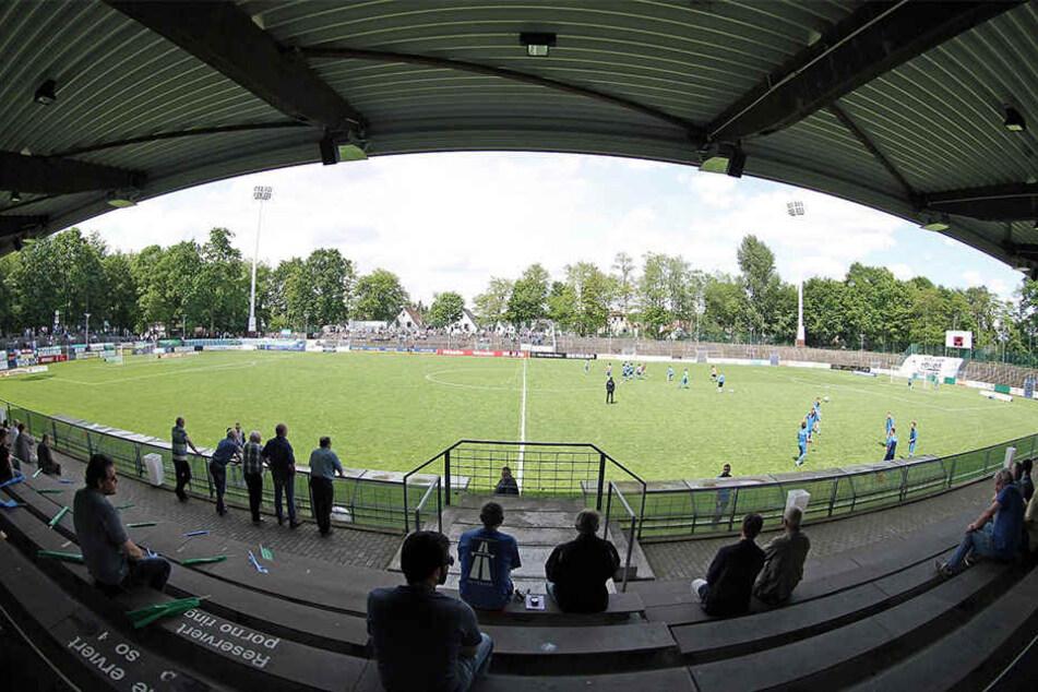 Der Rasen im Heidewaldstadion ist aktuell nicht bespielbar.