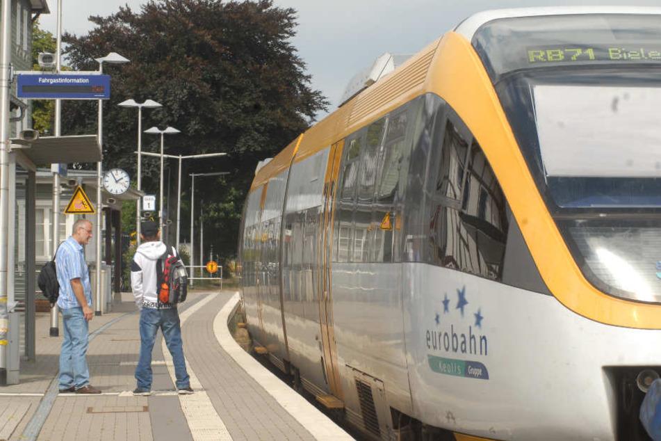 Der Holland-Zug der Eurobahn wird ausgebremst.