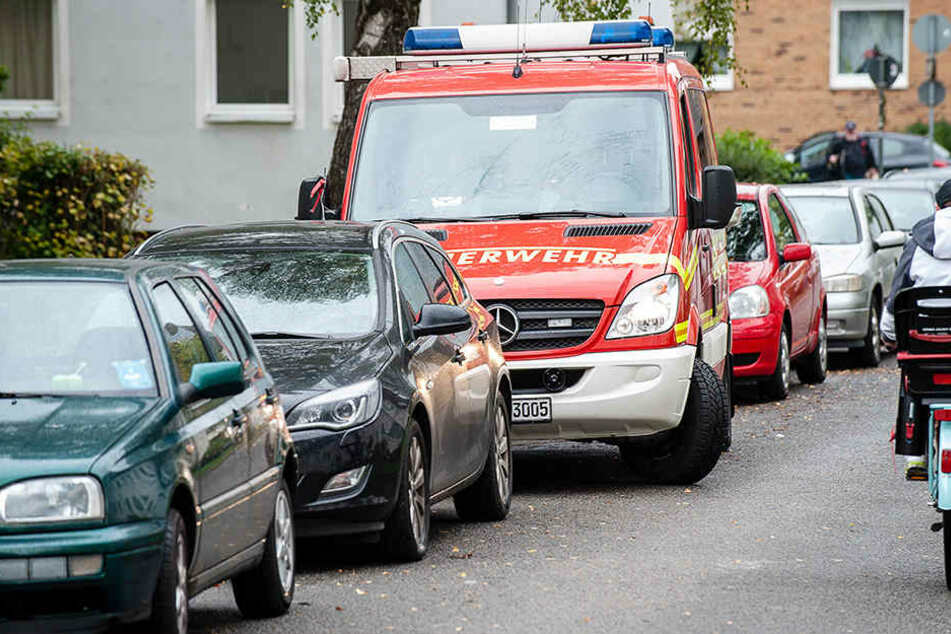 In der Apfelstraße nahm die Polizei den 40-jährigen Mann fest.