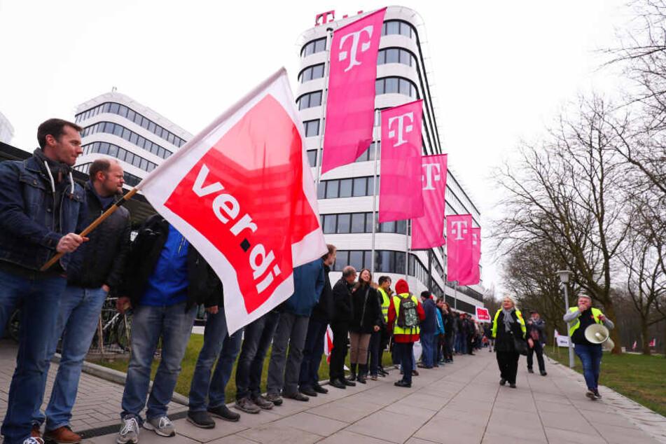 Verdi und Telekom einigen sich auf Tarifabschluss
