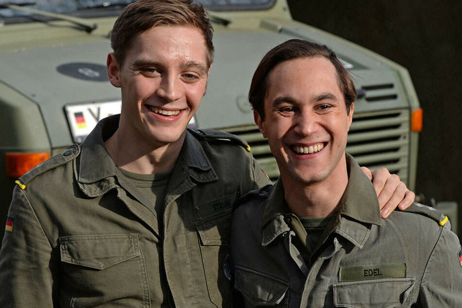 Jonas Nay und Ludwig Trepte.