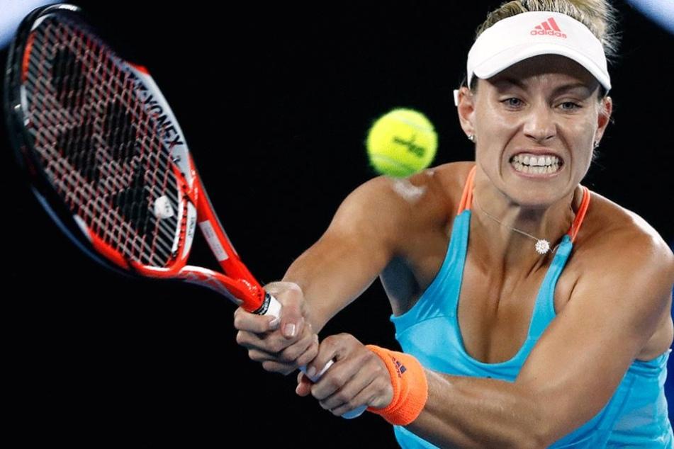 Angelique Kerber schied im Achtelfinale der Australien Open gegen die ungesetzte Coco Vandeweghe aus.