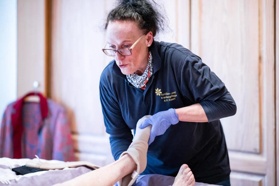 Elisabeth Potrek ist Pflegefachkraft.