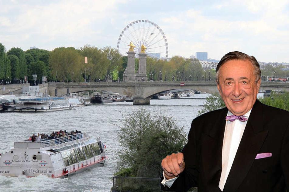 Diesmal kein Tiername! Mörtel Lugner macht Liebesurlaub in Paris