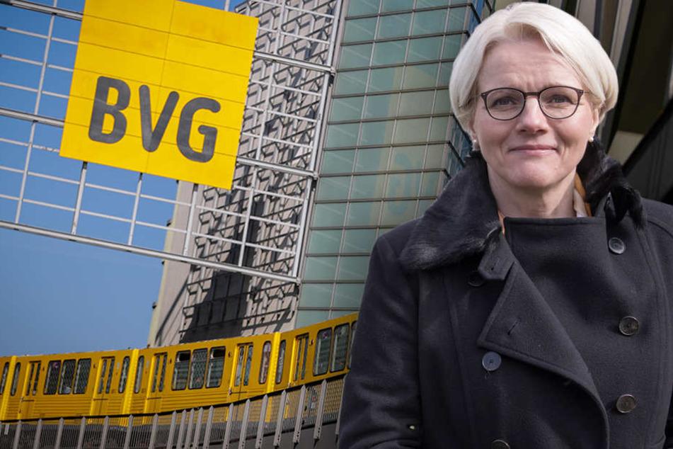 Regine Günther brachte den Vorschlag zur Überprüfung eines Ausbaus auf mehreren Strecken noch in dieser Legislaturperiode ein. (Bildmontage)