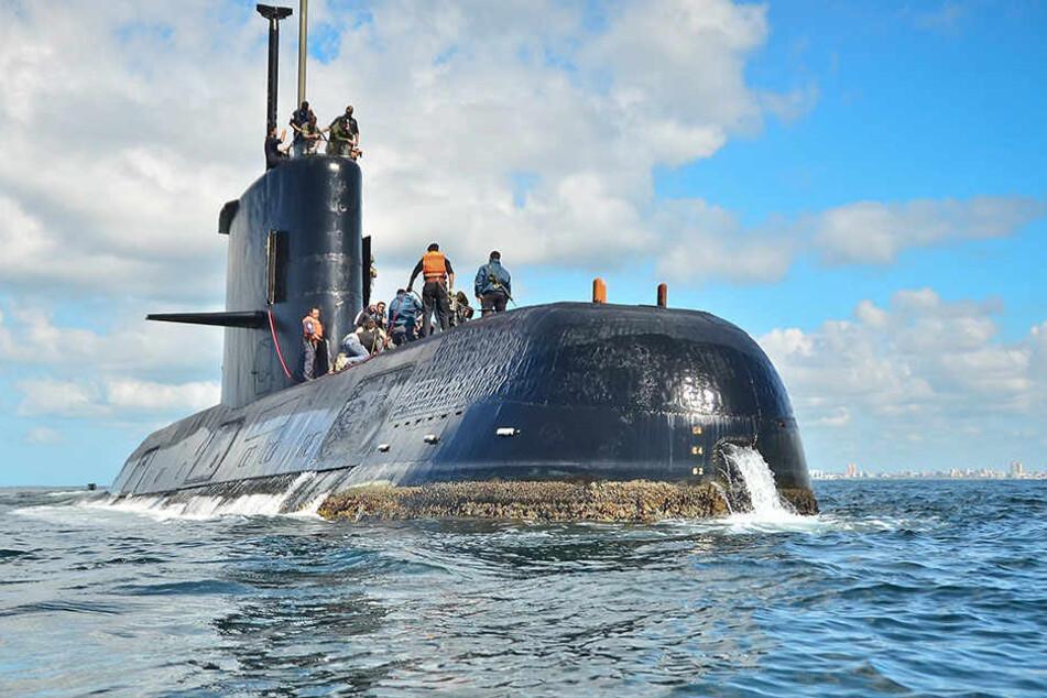 """Dasverschollene U-Boot """"ARA San Juan"""" ist von einer Suchmannschaft der privaten Firma Ocean Infinity geortet worden."""