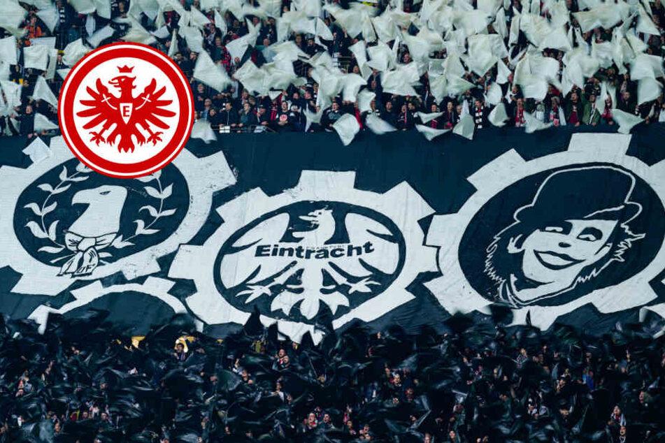 Eintracht Frankfurt mit 18 Profis nach Lüttich