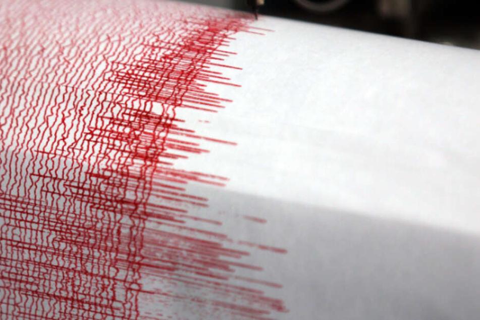 Das Erdbeben hatte eine Stärke von 3.8. (Symbolbild)